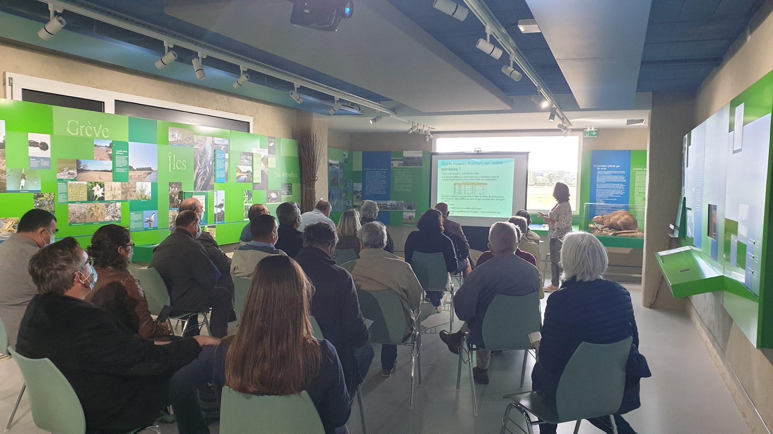 La Maison de Loire du Cher reçoit les maires de la communauté de communes