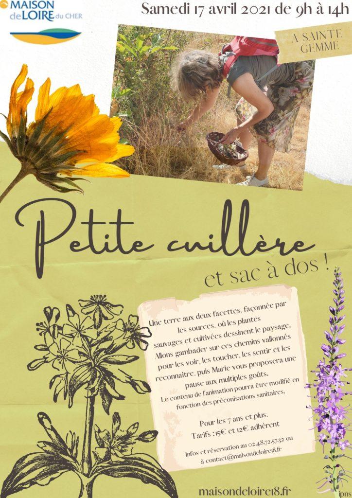 """Sortie """"Petite cuillère et sac à dos"""""""