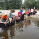 Activité enfant au bord de Loire avec la Maison de Loire du Cher