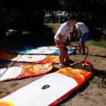 paddle board lord de la sortie ado de la Maison de Loire du Cher