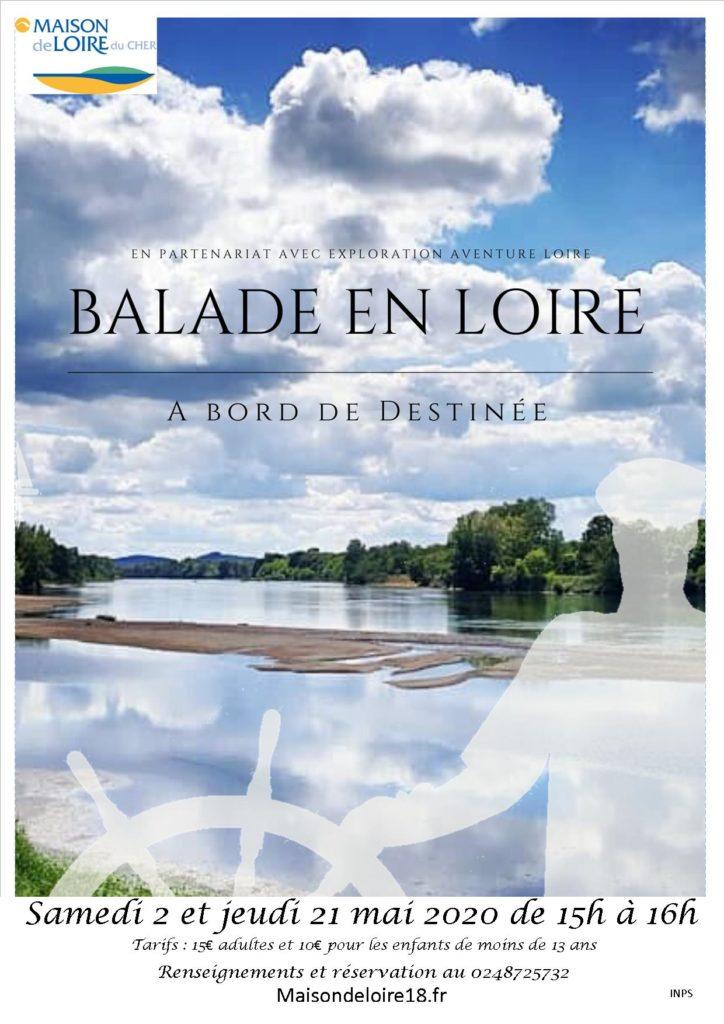 Balade en Loire à bord de Destinée