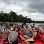 Animation enfants  pour découvrir la Loire en canoë avec la Maison de Loire du Cher