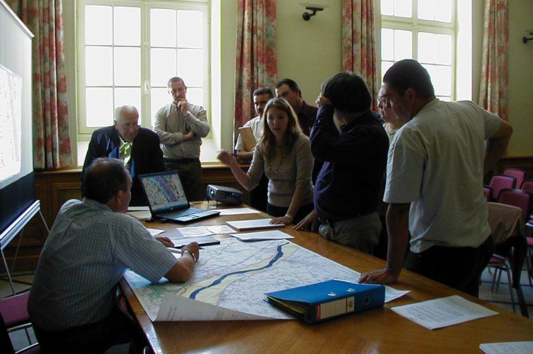 Nathalie Lebrun éducatrice à l'environnement à la Maiosn  de Loire de Loire du Cher