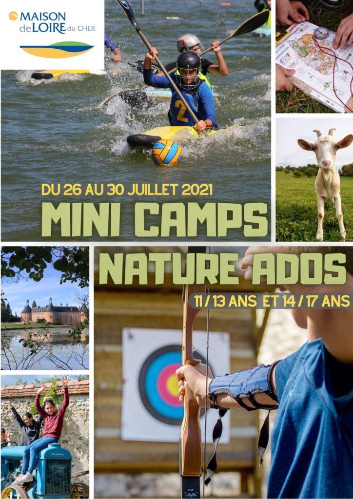 Mini-Camps Nature Ados (11/13 ans et 14/17 ans)