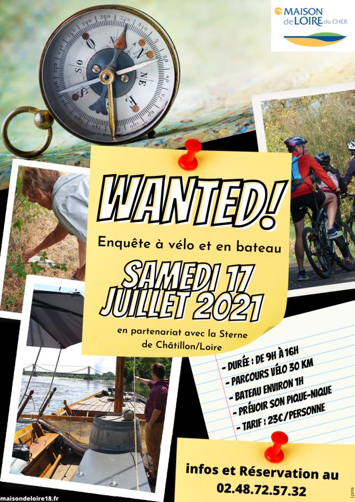 Wanted ! Enquête à vélo et en bateau